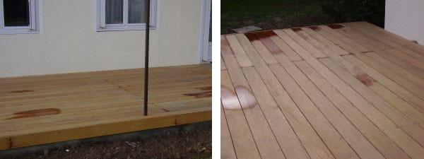 entretien d 39 une terrasse en bois garapaentretien du bois le blog du comptoir des produits bois. Black Bedroom Furniture Sets. Home Design Ideas