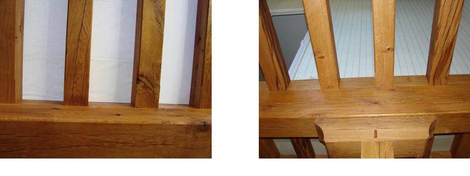 Traitement et d coration de poutres en ch neentretien du for Traitement des poutres en bois