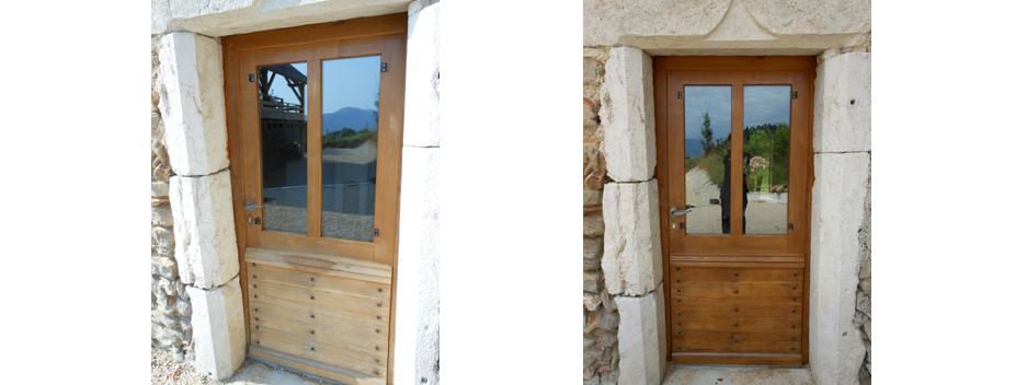 r novation de portes en ch ne lasur esentretien du bois le blog du comptoir des produits bois. Black Bedroom Furniture Sets. Home Design Ideas
