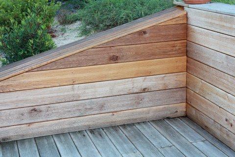 saturateur appliqu sur du ch ne en ext rieurentretien du bois le blog du comptoir des. Black Bedroom Furniture Sets. Home Design Ideas