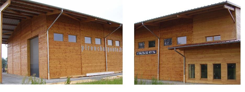 bâtiment en bois protéger avec saturateur