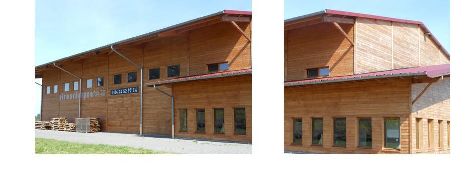 bâtiment en bois protéger