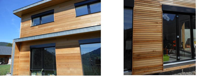 Populaire 2 teintes pour une maison boisEntretien du bois : le blog du  KZ22