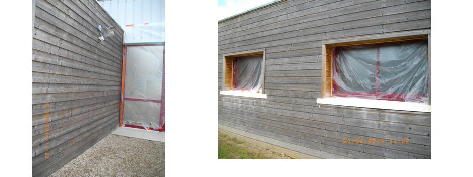 les dégriseurs bois sont souvent corrosifs : il faut protéger les menuiseries