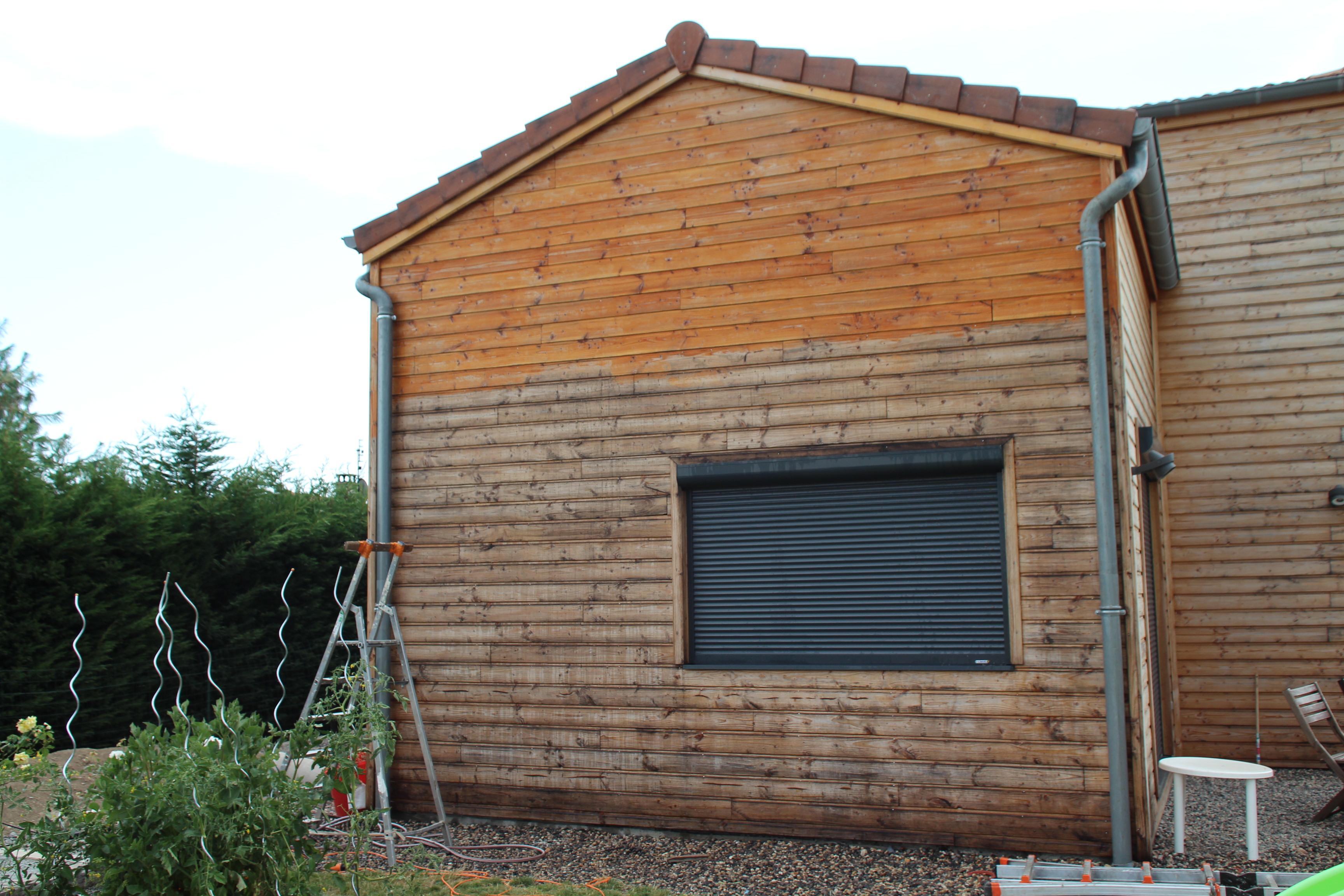 Decaper Une Terrasse avec quel produit nettoyer un bardage en bois ?entretien du