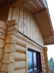 maison bois avec saturateur Protext