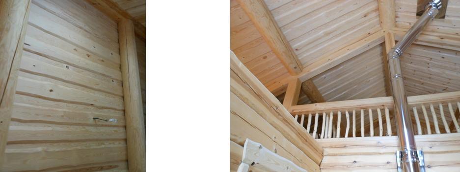 bois intérieurs chalet