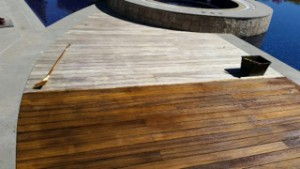 terrasse bois avec et sans saturateur