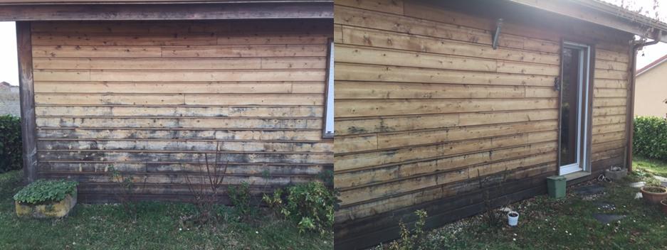 R nover son bardage avec un saturateurentretien du bois le blog du comptoir - Renover lambris bois ...