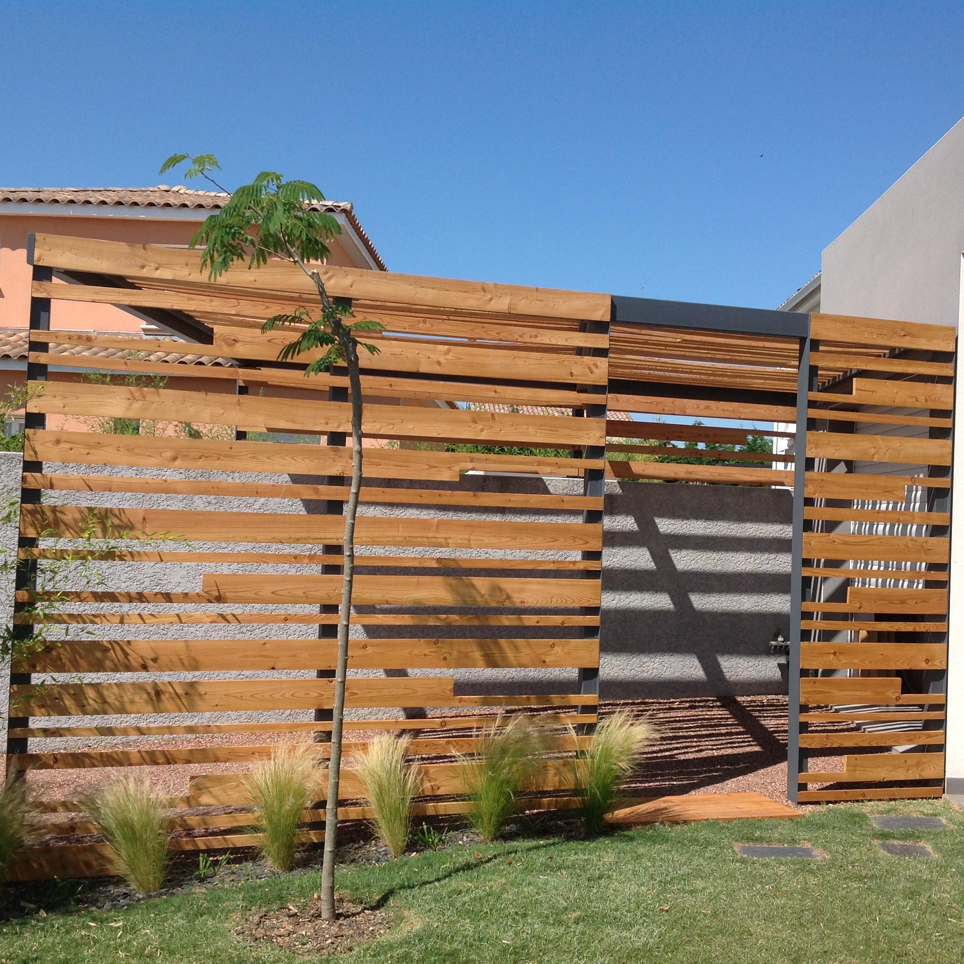 Connu Ouvrage à claire-voie en bois huiléEntretien du bois : le blog du  MN04