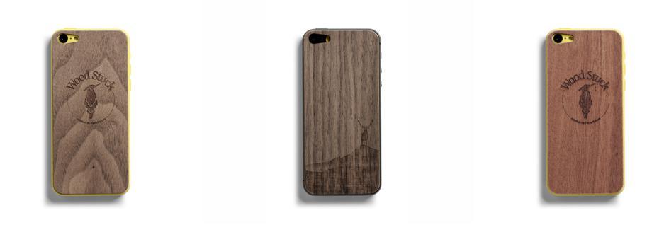 coques en bois iPhone