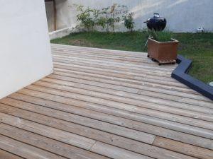 terrasse 4 mois après application saturateur