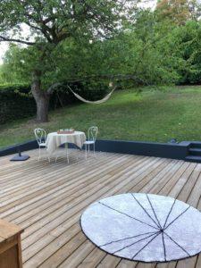 jolie terrasse en bois